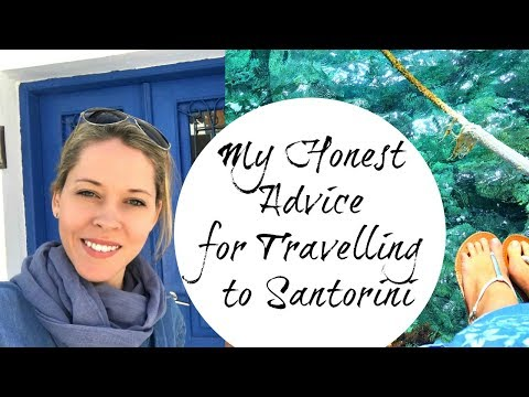 5 TIPS FOR TRAVELLING IN SANTORINI
