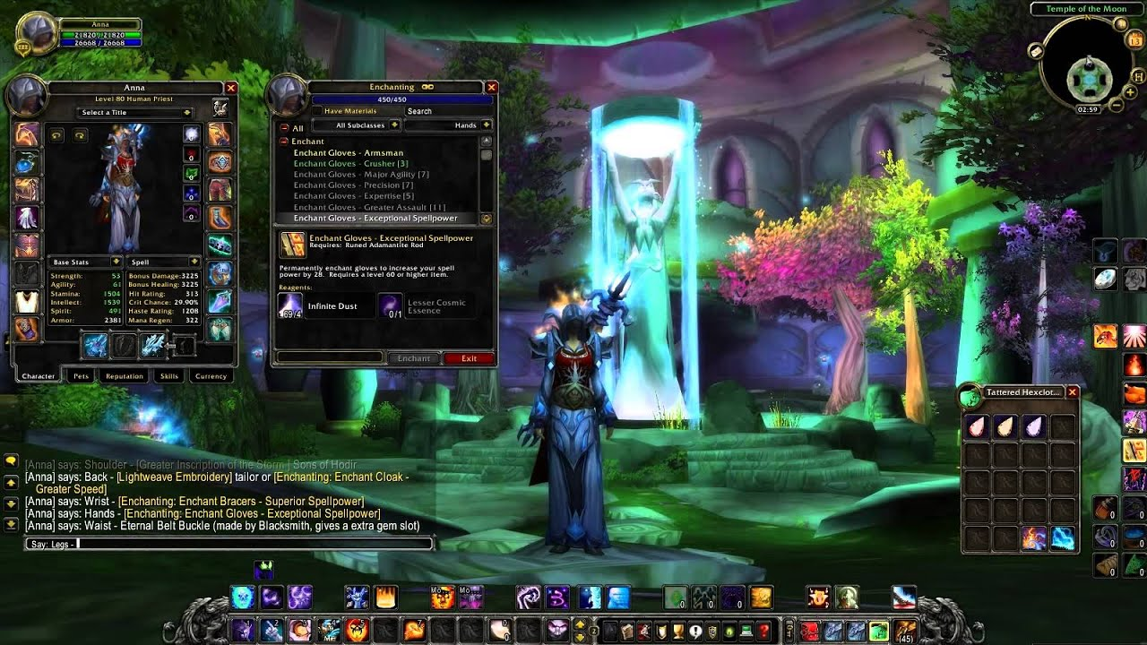 Shadow Priest 3 3 5 Pve Guide Gems Enchants And Stats Part2 Youtube