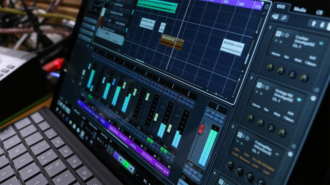 Surface Pro 6 testing and tweaking for music production