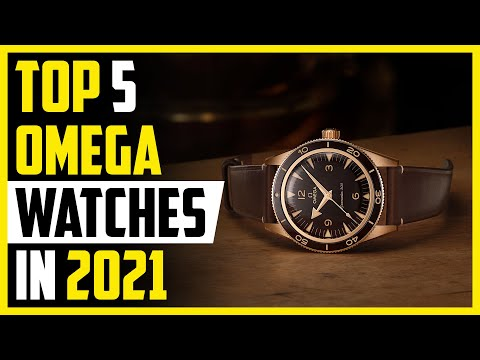 Omega Watch - Top 5 Best Omega Watches 2019 | Omega Seamaster