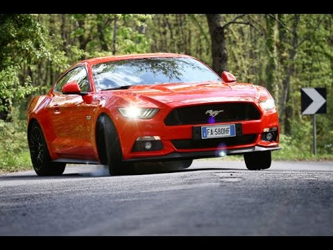 Pure Sound Mustang 5000 V8 - Davide Cironi Drive Experience