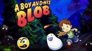 A Boy and His Blob PC Gameplay - Com Comentários PT-BR
