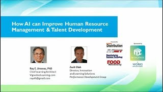Join dr. ray jimenez and zsolt olah as they discuss the implications of using artificial intelligence tools in your hr operation.