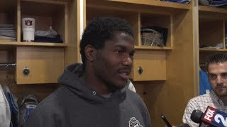 Kerryon Johnson on setting goals for himself