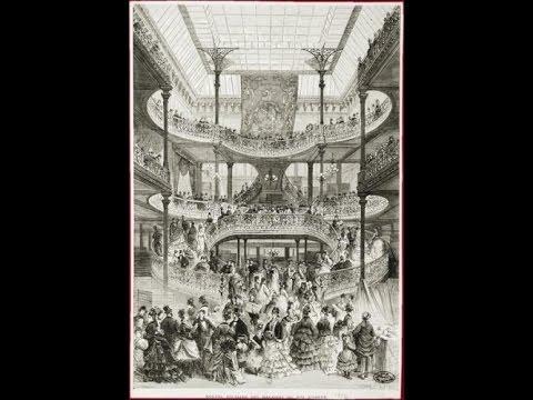 Conférence de René Péron : Histoire du commerce, du Bon Marché aux supermarchés