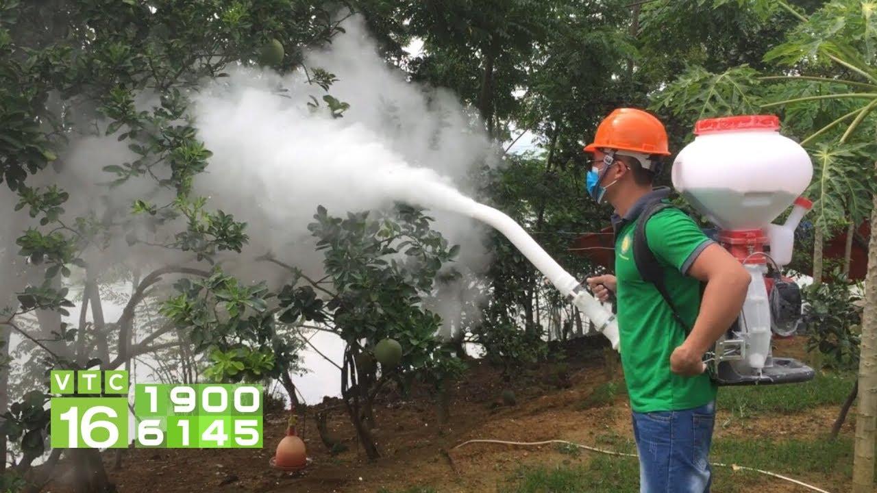 Nông dân sáng chế máy phun vôi độc đáo | VTC16