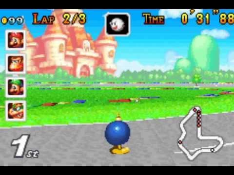 Mario Kart - Super Circuit VBA and Gameshark Codes