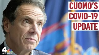 NY Gov. Cuomo Gives Updates on COVID-19 Clusters in New York