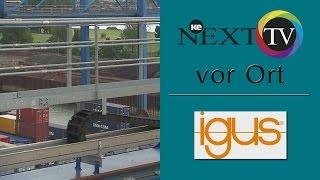 Energieführungskette: ke NEXT TV besichtigt die Igus Energieführungskette im Duisburger Hafen