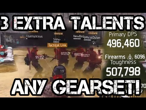 How to use 3 EXTRA WEAPON TALENTS with ANY Gearset! MAX DAMAGE!!! - The Division