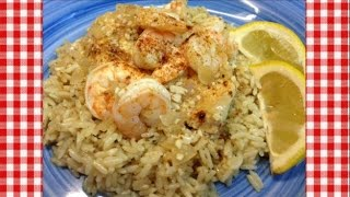 Shrimp & Chicken Scampi Skillet Dinner ~ Noreen's Kitchen