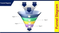 How to create Funnel diagram in PowerPoint - Free PowerPoint template