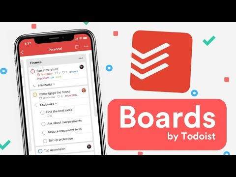 New Todoist Boards 2019 Release Youtube