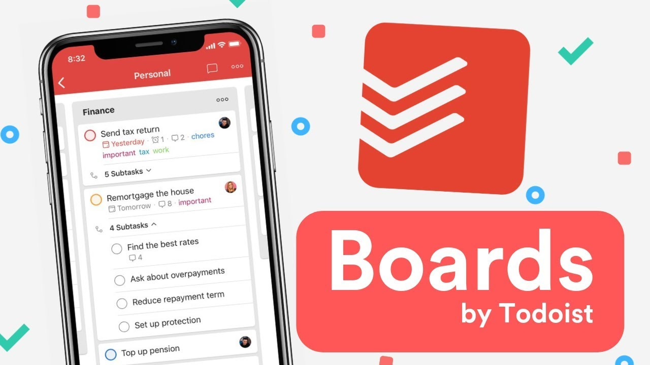NEW TODOIST BOARDS (2019 RELEASE) ✅