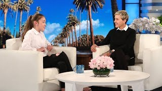 12-Year-Old Irish Busker Brings Her Amazing Talents to Ellen
