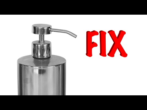 Fixing A Soap Dispenser Pump