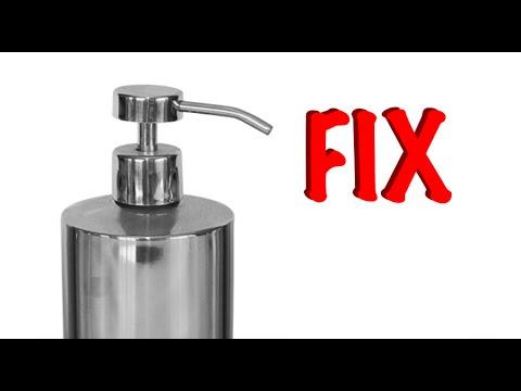 Fixing A Soap Dispenser Pump Youtube