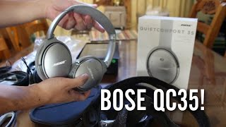 $350 Bose QuietComfort QC35 UNBOXING!