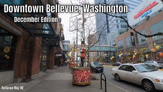 Downtown Bellevue, Washington 4k Walking Tour