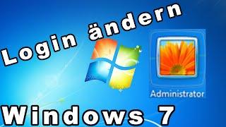 Windows 7 Anmeldebildschirm ändern