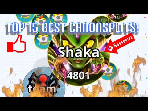 Top 15 Best cannonsplits Agario mobile