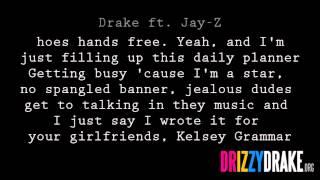 Drake ft  Jay Z   Light Up Lyric Video