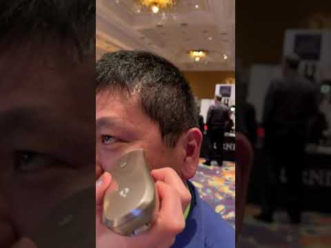 Watch Opté remove the spots on Dean Takahashi's face