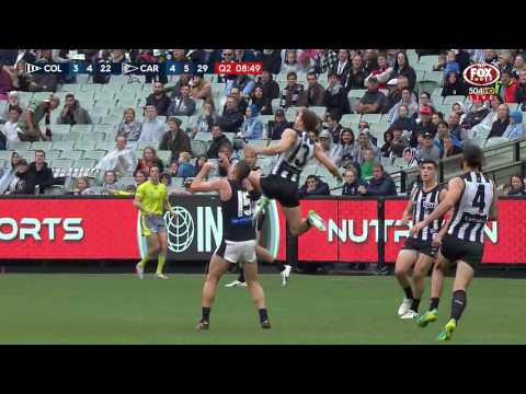 Round 7 AFL - Collingwood v Carlton Highlights