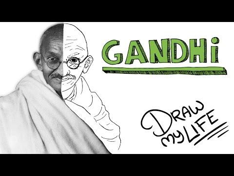MAHATMA GANDHI | Draw My Life