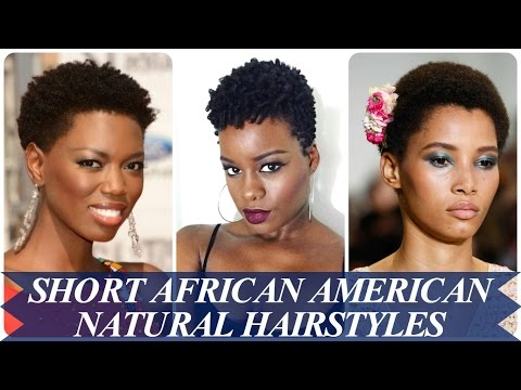 21 new short natural hairstyles for african american women