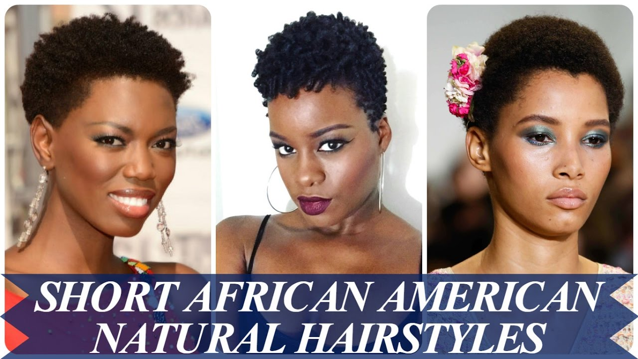 21 new short natural hairstyles for african american women - youtube