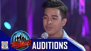 "Pinoy Boyband Superstar Judges' Auditions: Jindric Macapagal – ""Night Changes"""