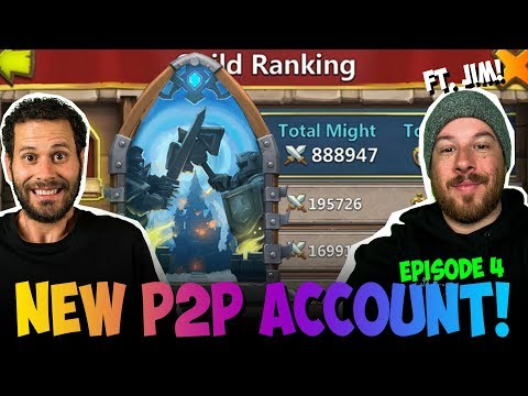 New Pay 2 Play Growing SUPER FAST Castle Clash