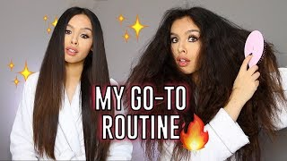 How I Straighten My Hair *Updated*