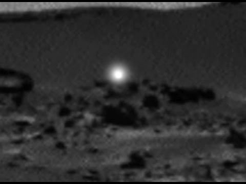 mars rover lights volcano - photo #23