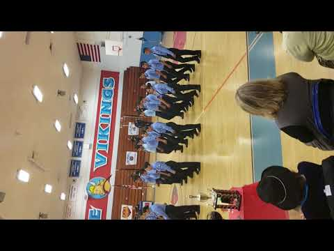 San pedro high school police academy drill competition