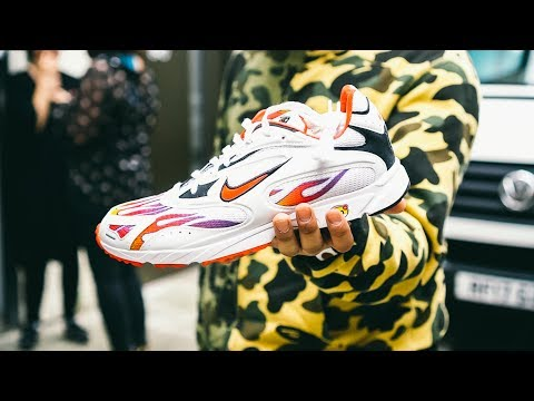4bef861f92cb Supreme x Nike Zoom Streak Spectrum Plus On Feet Week 1 Cinematic Look SS18