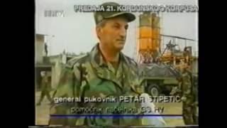 Predaja 21. Kordunskog korpusa 8. kolovoza 1995.