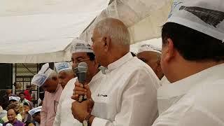Ex FM, Yashwant Sinha comes in Support of @ArvindKejriwal and Delhi Govt in