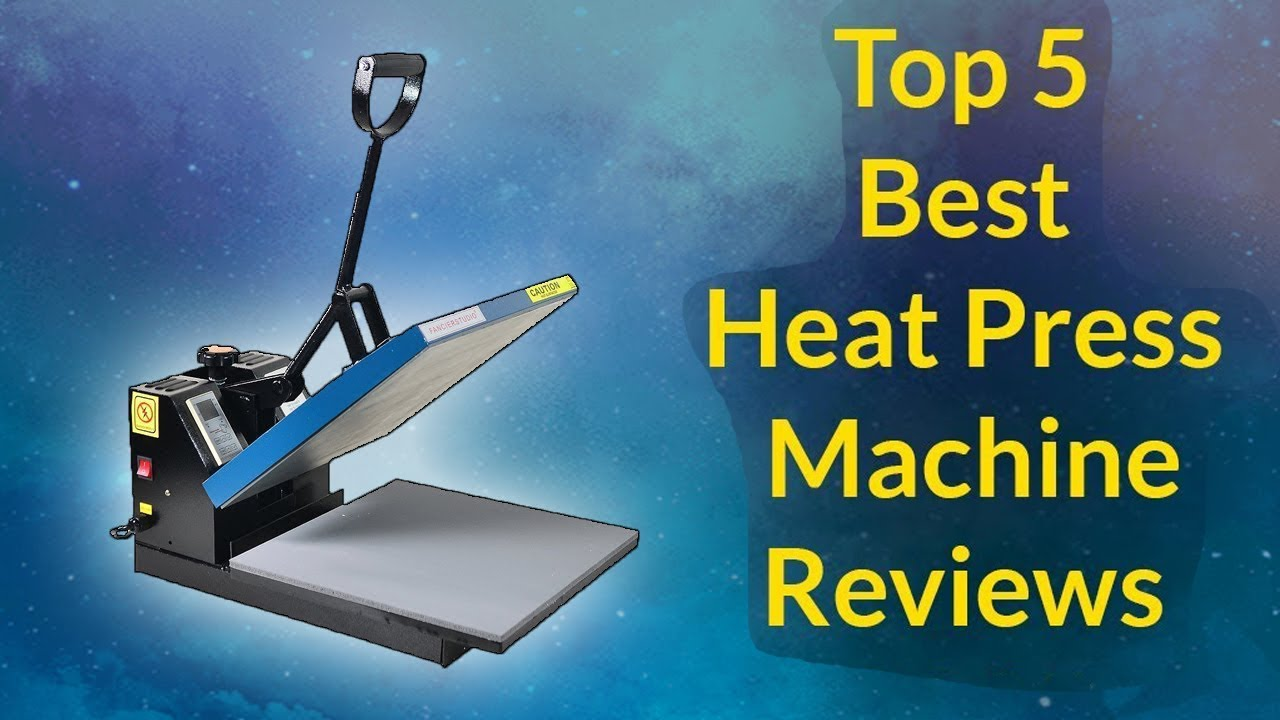 Top 5 Best Heat Press Machine Reviews 2019-2020 - YouTube