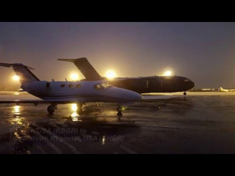Flying to the USA in a Citation Mustang
