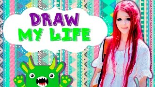 Anastasiya Shpagina | DRAW MY LIFE(I'm Anastasiya Shpagina, but many people just call me Ana. I'm from Ukraine, Odessa city. I was called living doll aime after my first video-tutorial called