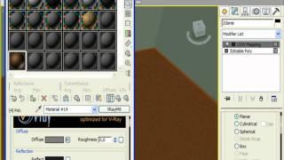 Делаем материалы побелки, краски и пола в 3DS Max (26/32)