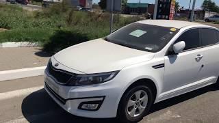 Kia K5 (Optima) - разгрузка машин в порту, Авто из Кореи на заводском газе.
