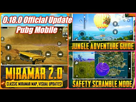 Pubg Mobile 0.18.0 Beta Update | What's New In 0.18.0 Update Pubg Mobile