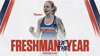 Mia Rabinowitz | 2018 Fighting Illini Freshman of the Year