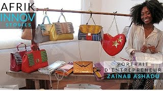 Zashadu, des sacs de luxe durable 100% nigérians