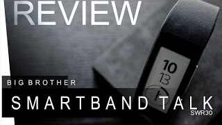 Sony Smartband Talk - SWR30 - REVIEW