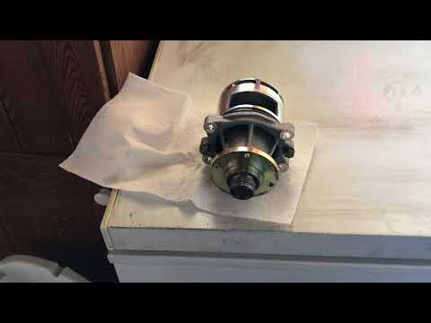 BMW I6 Stewart EMP Water Pump - Bearing Failure