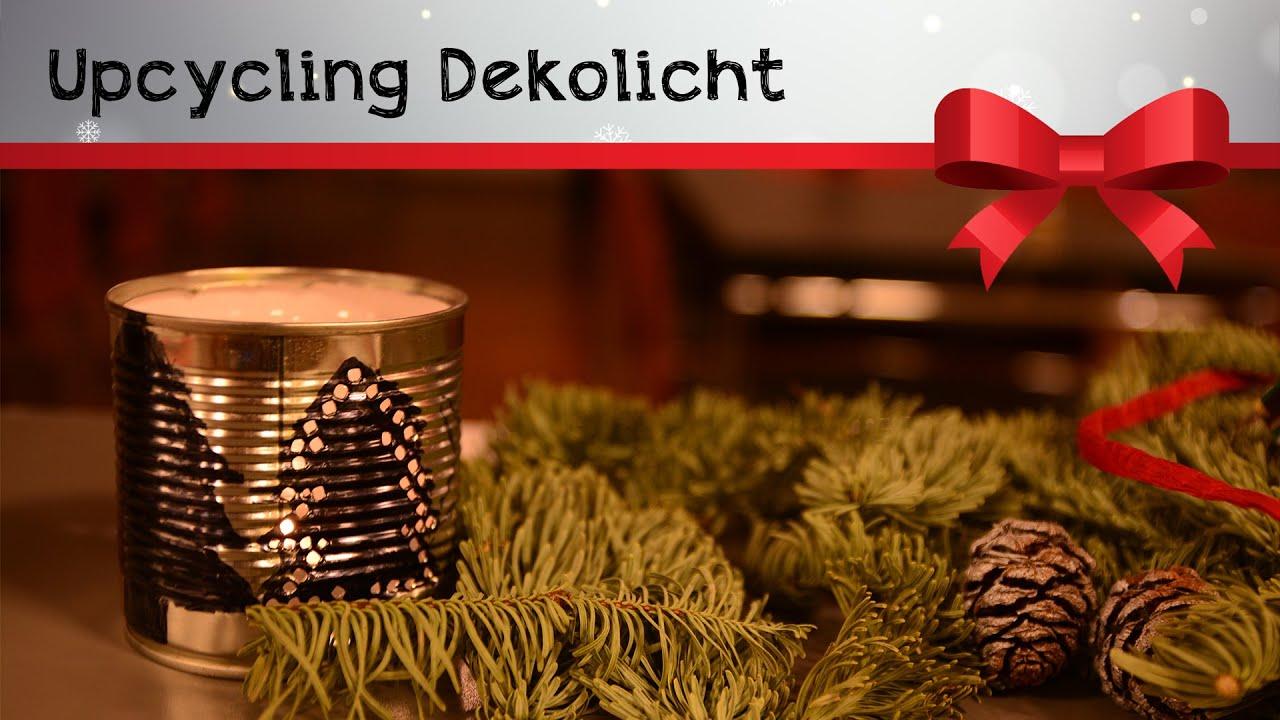 Upcycling Weihnachtsdeko Dekolicht Xmas Diy Tutorial Youtube